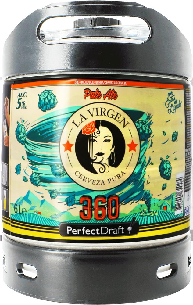 La Virgen 360 Perfect Draft Barril 6L incl. deposito