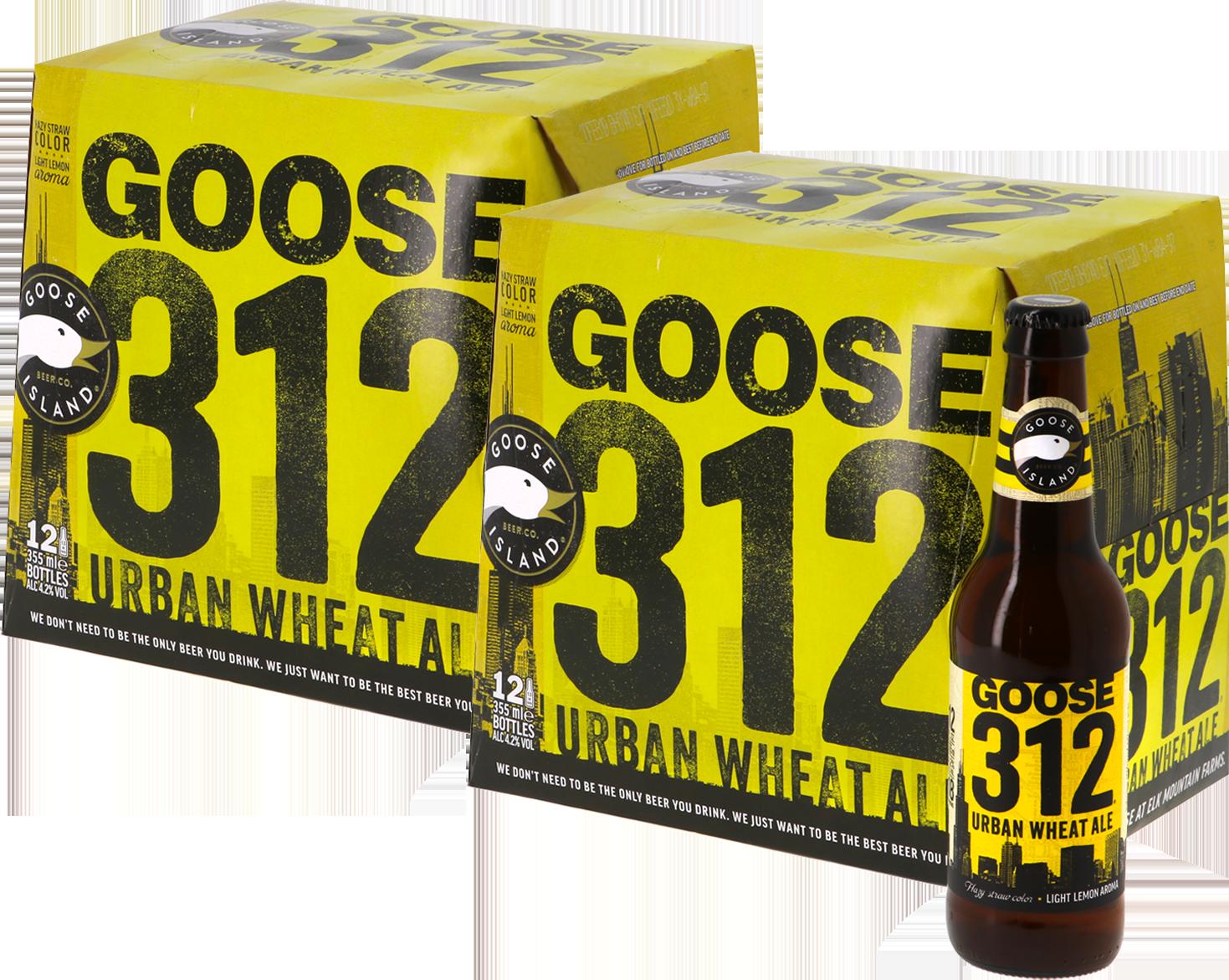 Big Pack Goose Island 312 Urban Wheat Ale - 24 bières