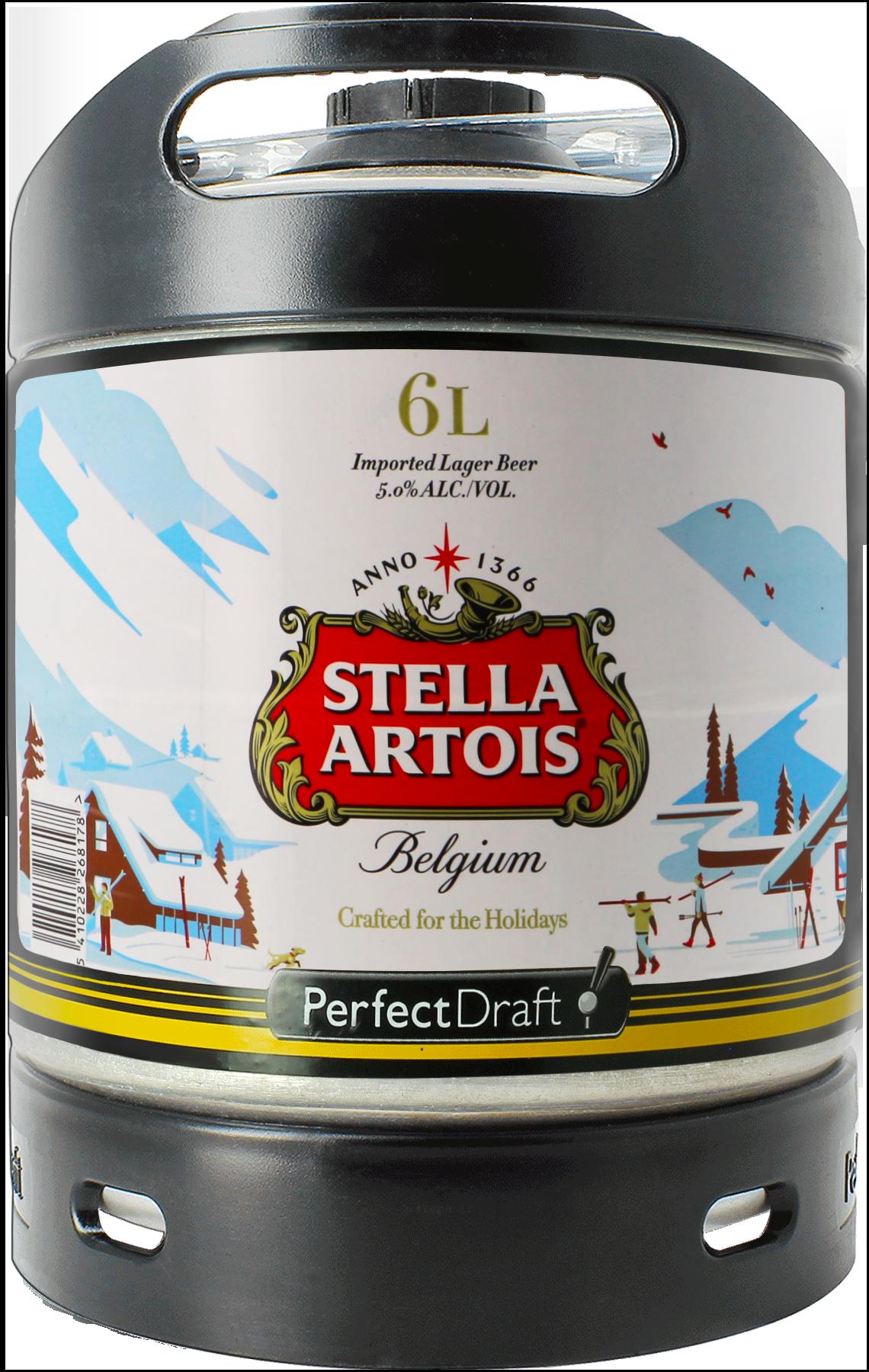 Fût 6L Stella Artois Holidays