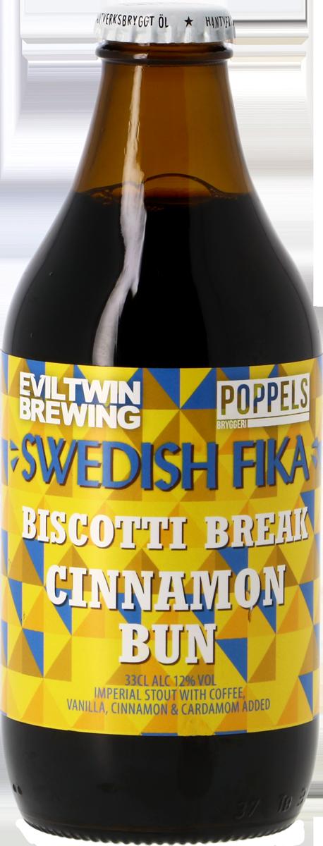 Poppels / Evil Twin Swedish Fika Biscotti Break Cinnamon Bun