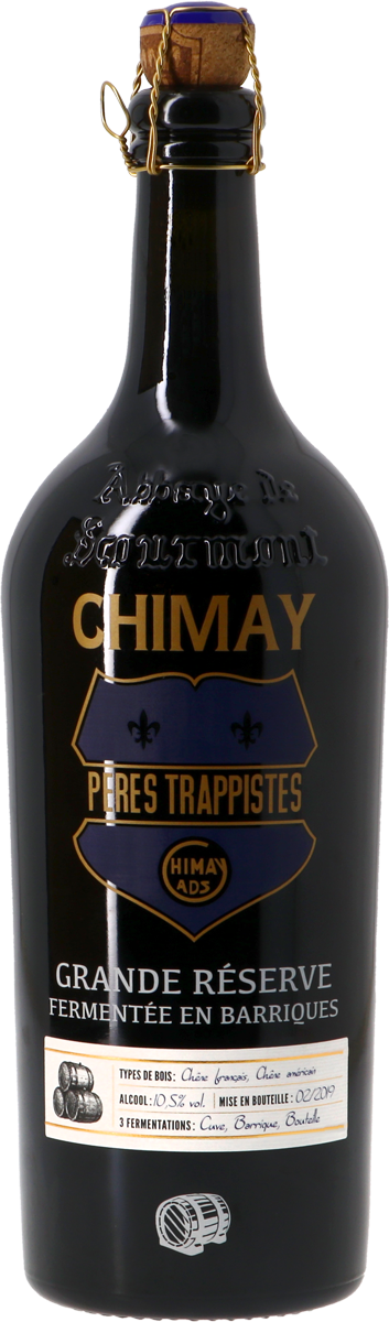 Chimay Grande Réserve Oak Barrel Aged 2019  - 75cl