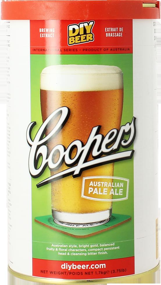 Kit de bière Coopers Australian Pale Ale