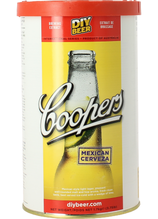 Kit à bière Coopers Mexican Cerveza