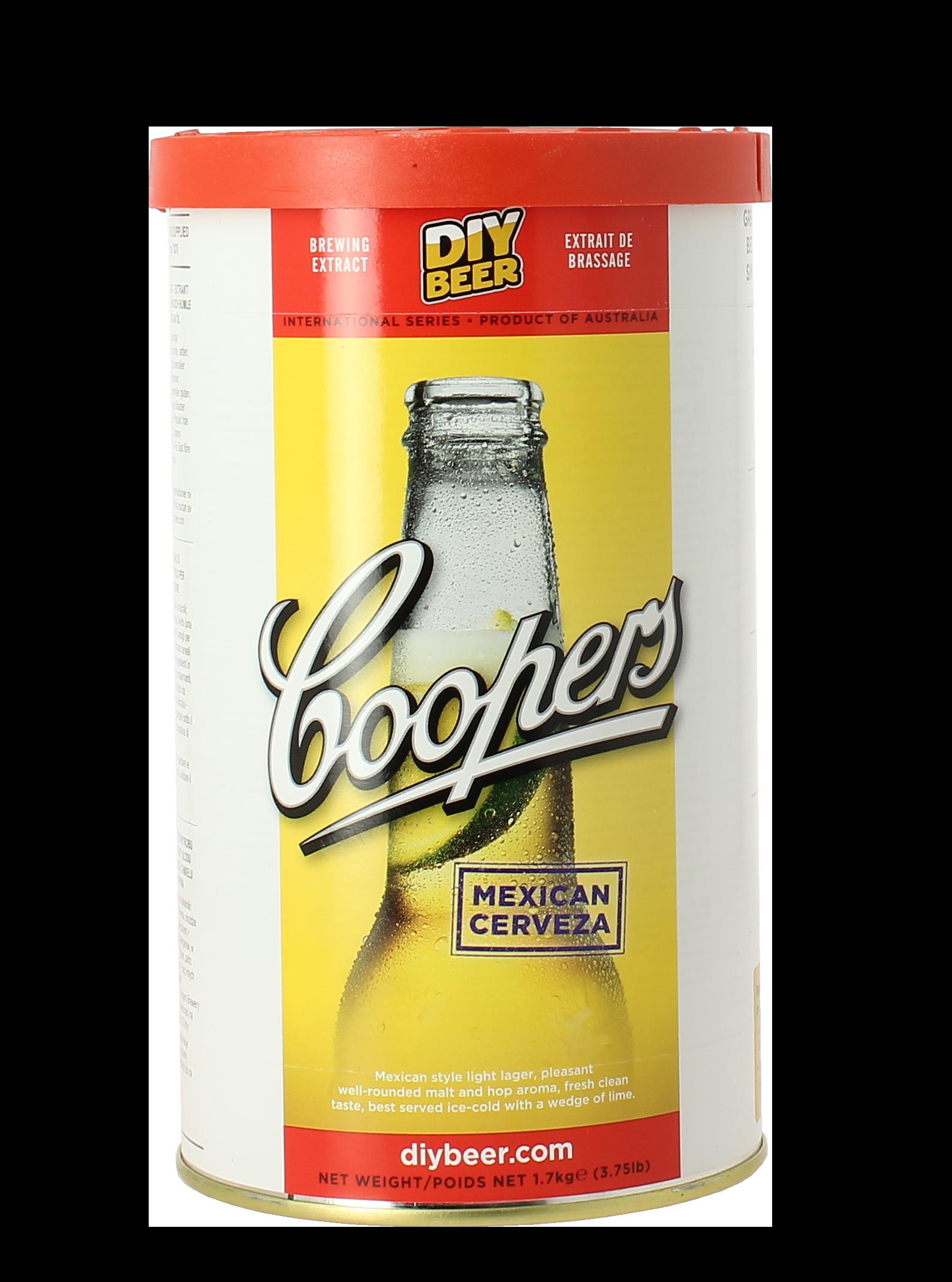 Kit de bière Cooper Mexican Cerveza