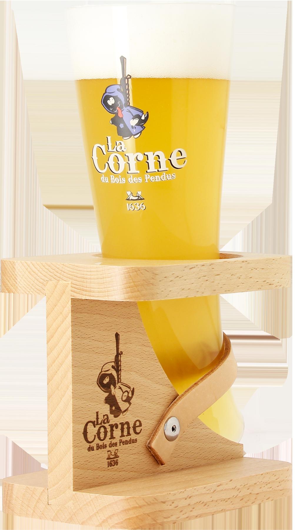 1 Verre 2 bi/ères Coffret La Corne du Bois des Pendus