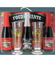 Coffret dégustation Foudroyante (3 bières 2 verres)
