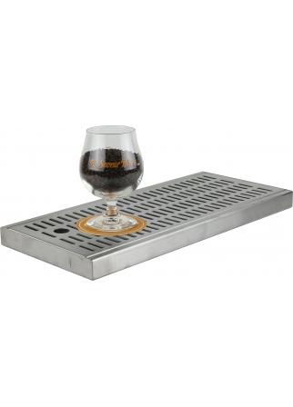 Égouttoir à bière pour comptoir 440 x 195 x 27 mm