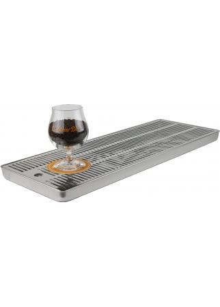 Égouttoir à bière pour comptoir 600 x 220 x 30 mm