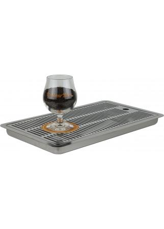 Égouttoir à bière encastrable 400 x 220 x 30 mm