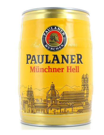Keg 5l Paulaner Orig M 252 Nchner Hell