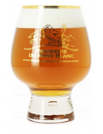 verre a biere brasserie du mont blanc