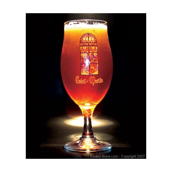 Verre saint martin un verre original - Verre a biere original ...