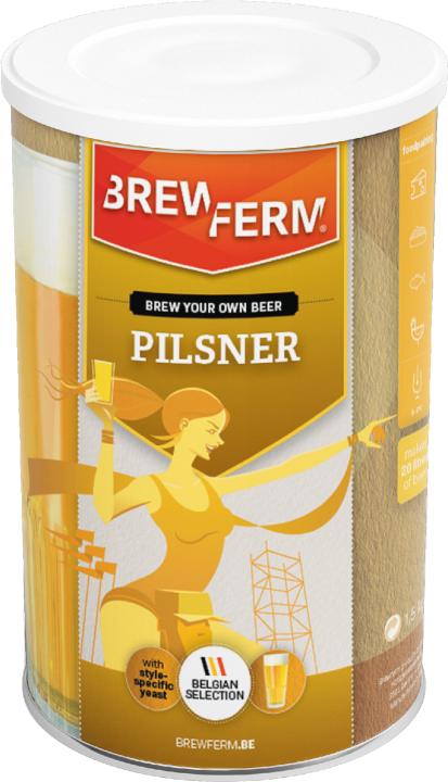 Kit de cerveza pilsner - BREWFERM