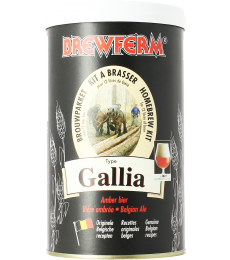 Kit à bière Brewferm Gallia Belgian Ale