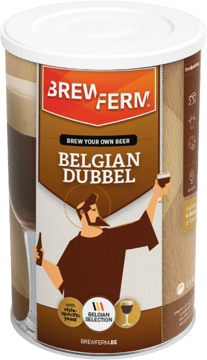 Kit de cerveza de abadía - Brewferm