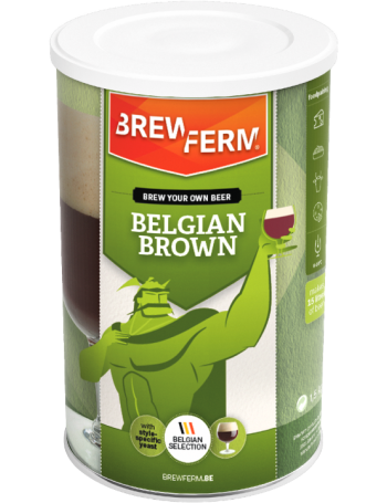 Kit à bière Brewferm Belgian Brown 15 L