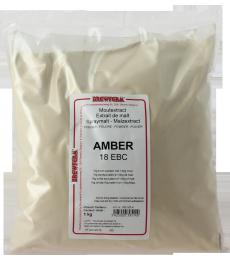 Extrait de malt poudre ambré Brewferm 1kg 18 EBC