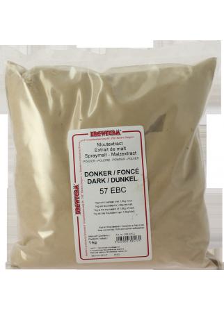 Extrait de malt poudre foncé 1kg