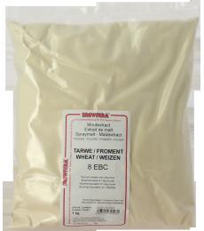 Extrait de malt poudre froment Brewferm 1kg 8 EBC