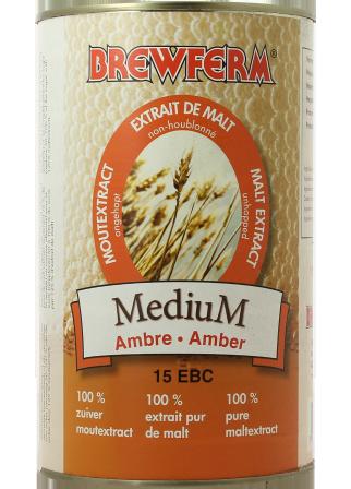Extrait de malt liquide Brewferm medium