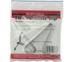 Crochet-support pour thermomètre inox