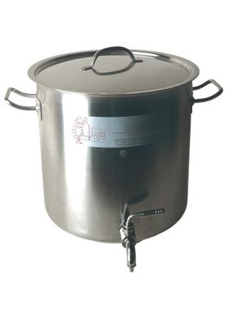 Cuve De Brassage Inox 36l Avec Robinet Brassage Maison
