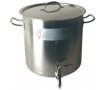 Cuve de brassage Inox 36L avec robinet