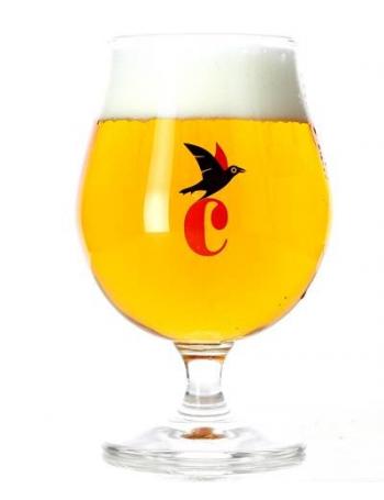 Verre en format tulipe triple cauwe 33 cl - Verre a biere 33cl ...