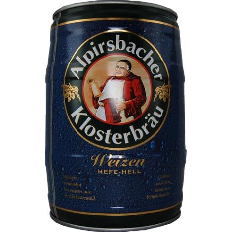Keg 5l Alpirsbacher Klosterbrau Weizen