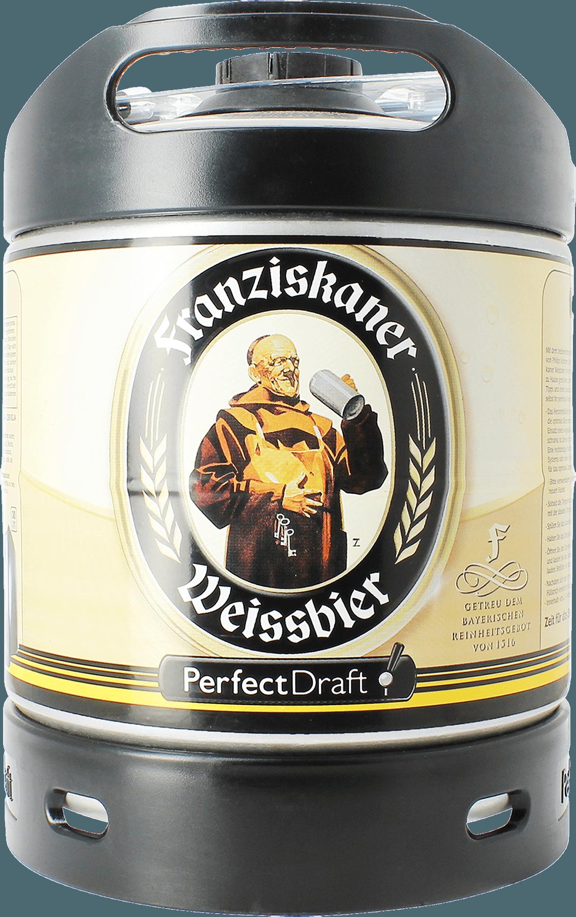 Barril Franziskaner Weissbier PerfectDraft 6 L