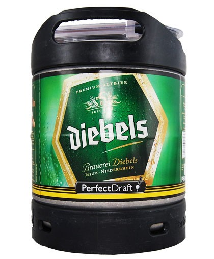 Diebels PerfectDraft 6-litre Barril
