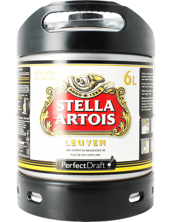Fût 6L Stella Artois