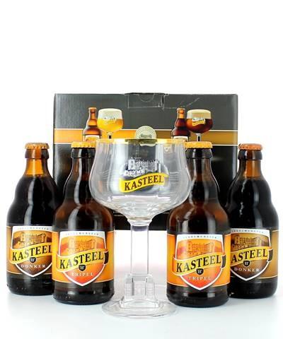 Coffret Kasteel bier