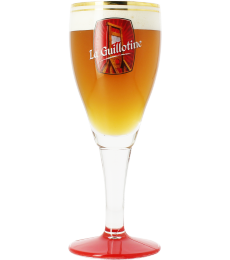 Guillotine brewery 33cl beer glass