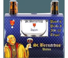 Coffret Saint Bernardus Watou (4 bières + 1 verre)
