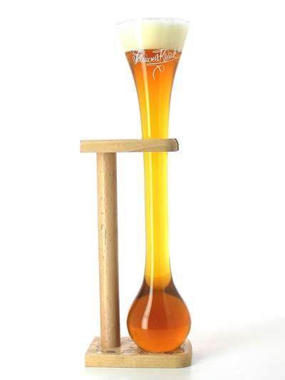 Vaso Kwak 75 cl + soporte de madera