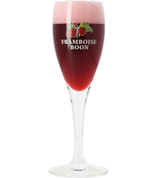 Boon Framboise Lambic beer glass