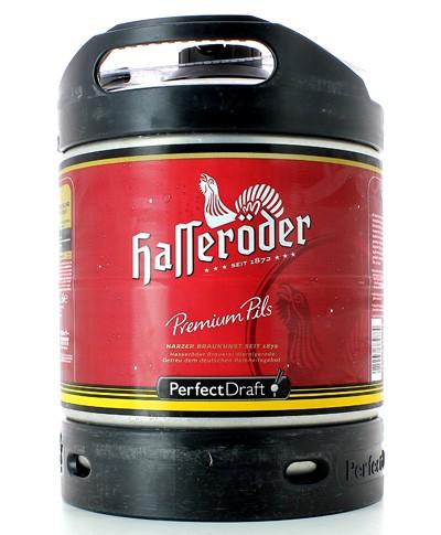 Hasseröder Premium Pils PerfectDraft 6-litre Barril