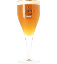 Saint Feuillien Grand Cru beer glass