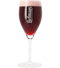 Liefmans beer glass