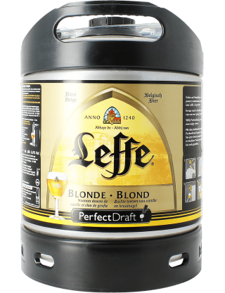 perfectdraft 6l keg leffe blond a belgian abbey beer. Black Bedroom Furniture Sets. Home Design Ideas
