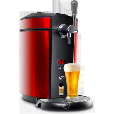 beer draft red beer dispenser yoo digital. Black Bedroom Furniture Sets. Home Design Ideas