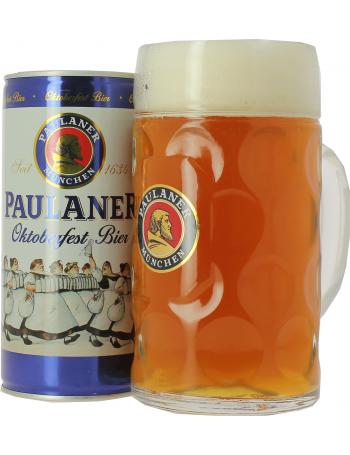 Bi re paulaner oktoberfest et chope 1l - Chope de biere 1l ...
