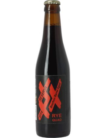XXX Rye Quad Bourbon Barrel Aged