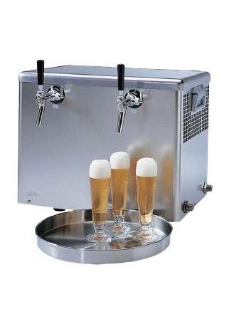 Tireuse froid sec débit 80 L/h détendeur intégré 2 becs