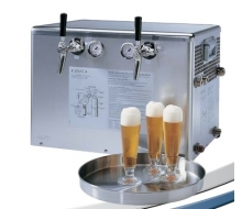 Tireuse à bière 120L/h froid sec 2 robinets