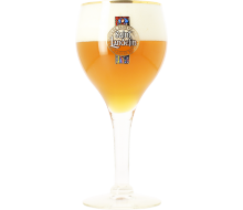 Saint Landelin beer glass