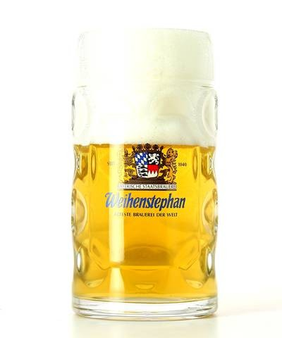 Vaso Weihenstephaner chope 50cl