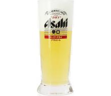 Asahi beer glass
