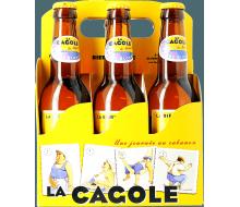 Pack de 6 bouteilles La Cagole blonde